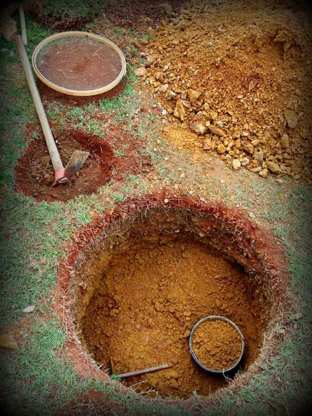 Digging Holes to CaptureWater
