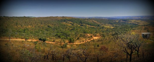 Panorama Spanning Across Our 24ha Land
