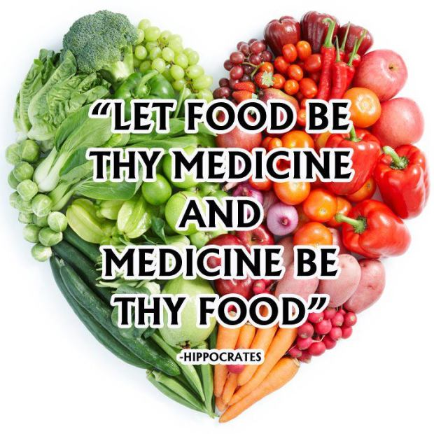 Hippocrates: Let your Food be thy Medicine
