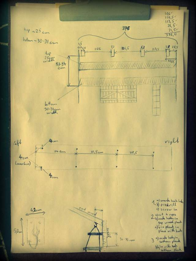 Kitchen Shelf Plans