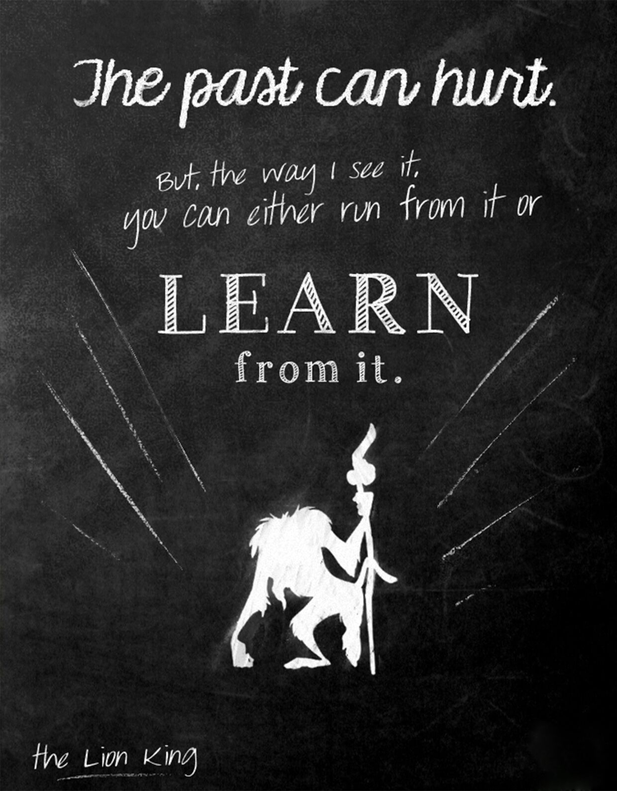 Lion King Learn Past