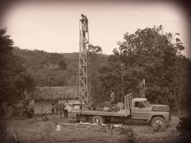 Drilling Our Artesian Well